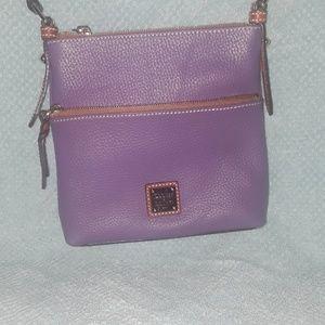 Almost new Purple Dooney & Bourke Crossbody Bag